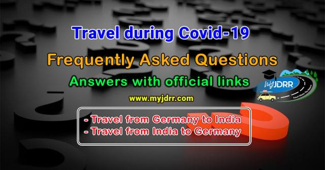Frequently asked questions - Travel during Covid