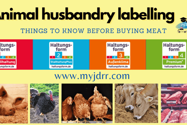 Animal husbandry labelling - Things to know before buying meat