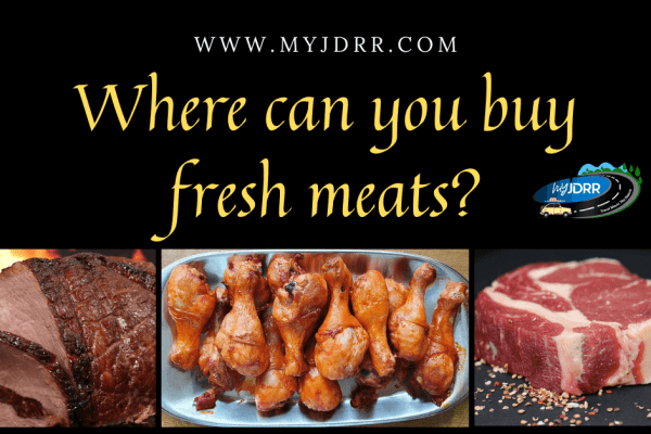 Where can you buy fresh meats