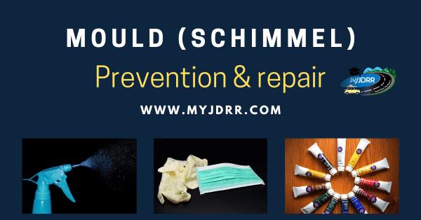 Mould (Schimmel) - Prevention & repair