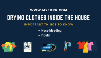 Drying clothes inside the house - Important things to know