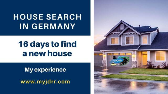 House search in Germany