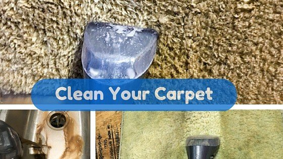 SPOT CLEAN YOUR CARPET AND FLOOR MATS