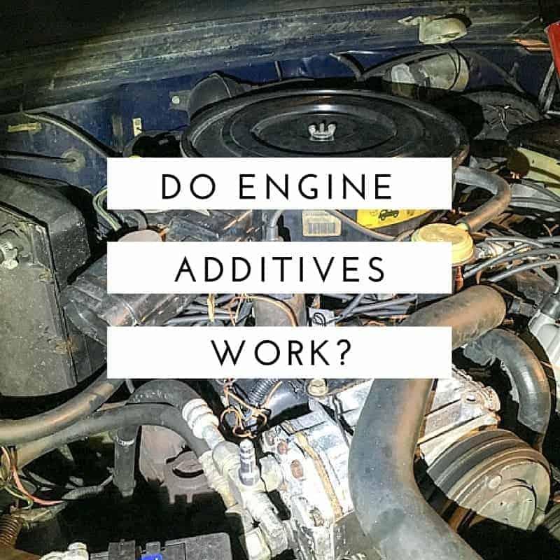 Do Engine Oil Additives Work?