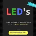 LED Flashing Too Fast - Easy Fix