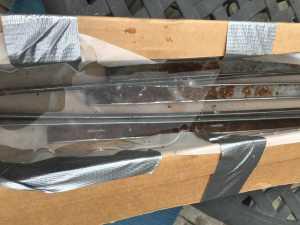 Using Vinegar to remove rust on Jeep Grand Wagoneer Cargo Floor Metal Strips