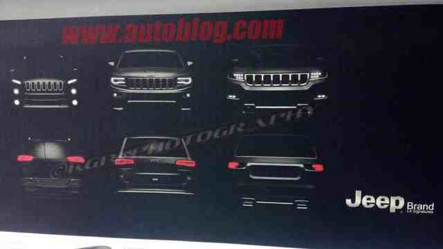 Leaked 2019 Jeep Grand Wagoneer Photos