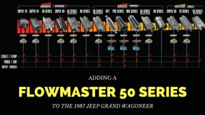 flowmaster 50 - Jeep Grand Wagoneeer