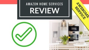 Amazon Home Services Review for Pinterest