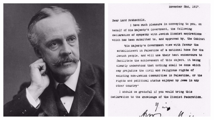 The Balfour Declaration of 1917   My Jewish Learning