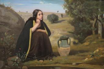 Image result for hebrew woman Rebecca painting