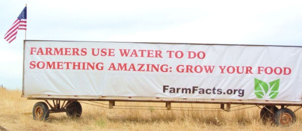 Farmers use water to do something amazing - grow your food