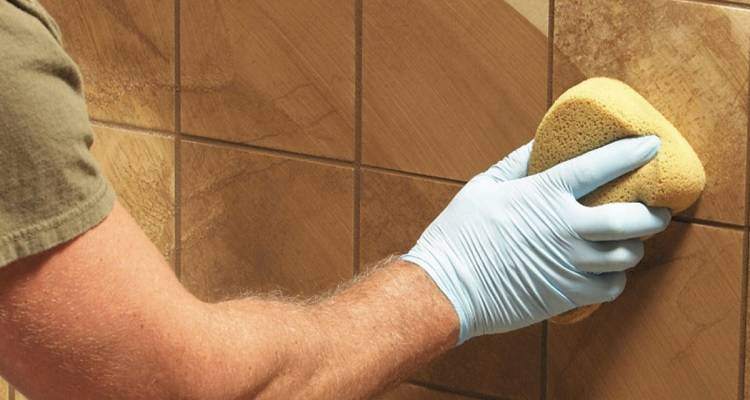 how to regrout tiles step by step guide