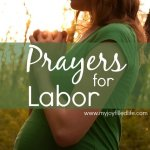 Prayers For Labor