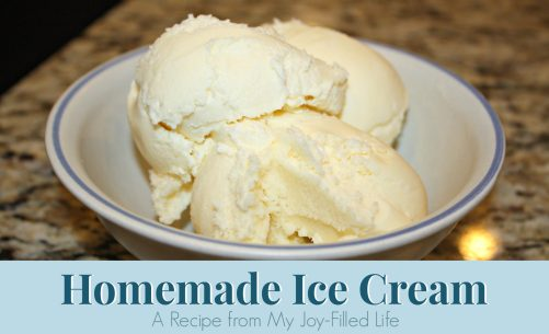 Homemade Ice Cream image