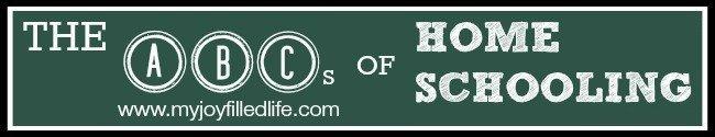 The ABCs of Homeschooling long banner 2