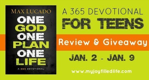 A Devotional for Teens - a Review - My Joy-Filled Life