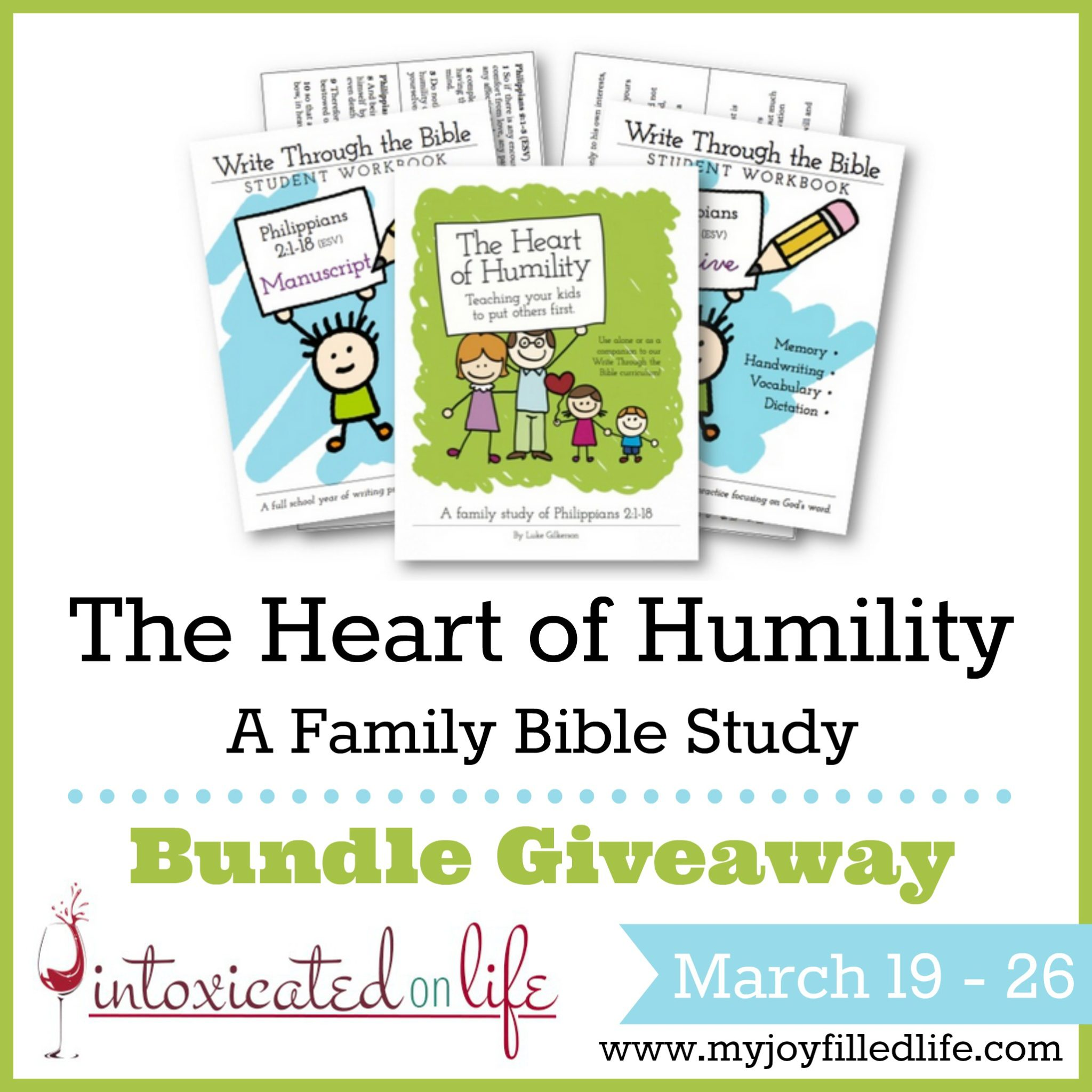 The Heart Of Humility Family Bible Study Blog Birthday Giveaway
