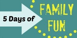 5 Days of Family Fun sidebar
