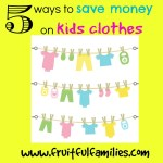 5 Ways to Save Money on Kids Clothes