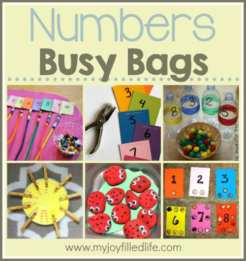 Number Busy Bags