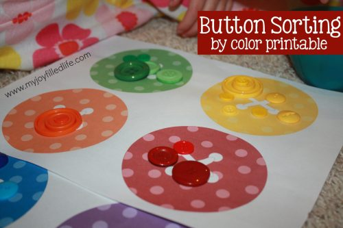 Button Sorting Color