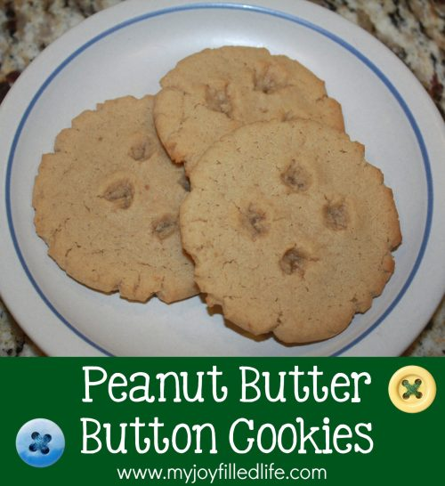 Peanut Butter Button Cookies1