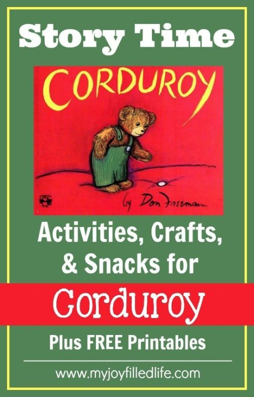 Story Time Corduroy