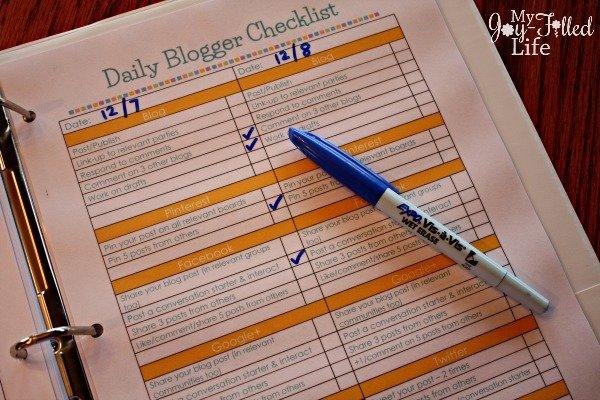 blog planner 6
