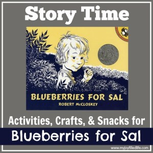 Blueberries for Sal Story Time