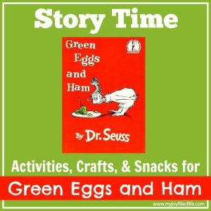 Green Eggs and Ham Story Time