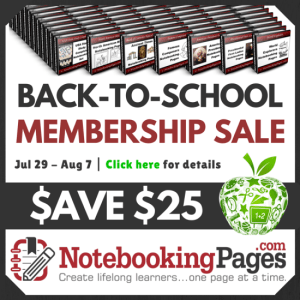 Save $25 at Notebooking Pages