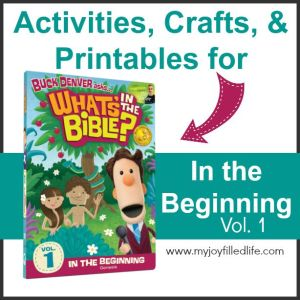 In the Beginning – Activities for What's in the Bible? Vol. 1