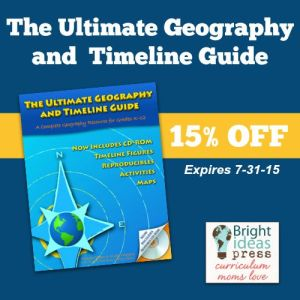 15% off The Ultimate Timeline and Geography Guide