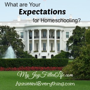 What are Your Expectations for Homeschooling?