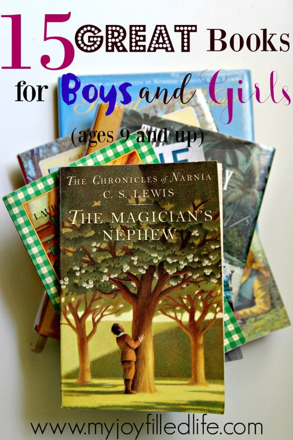 15 Great Books for Boys and Girls