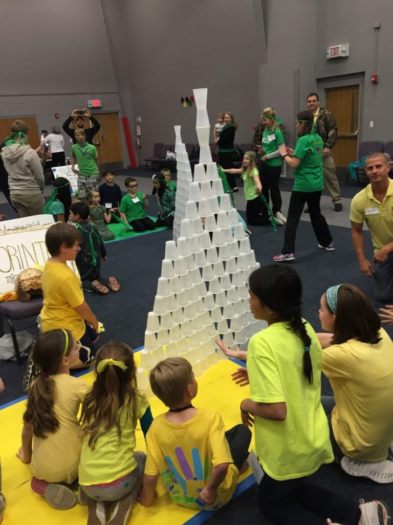 Stack the Cups game #2