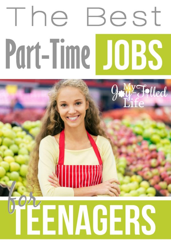 The Best Part-Time Jobs for Teenagers