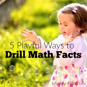 5 Playful Ways to Drill Math Facts