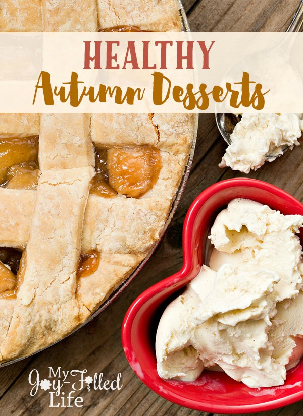 Healthy Autumn Desserts