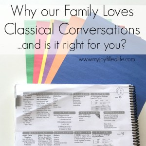 Why Our Family Loves Classical Conversations {and is it right for your family?}