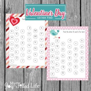 Valentines Day Letter Find Printables