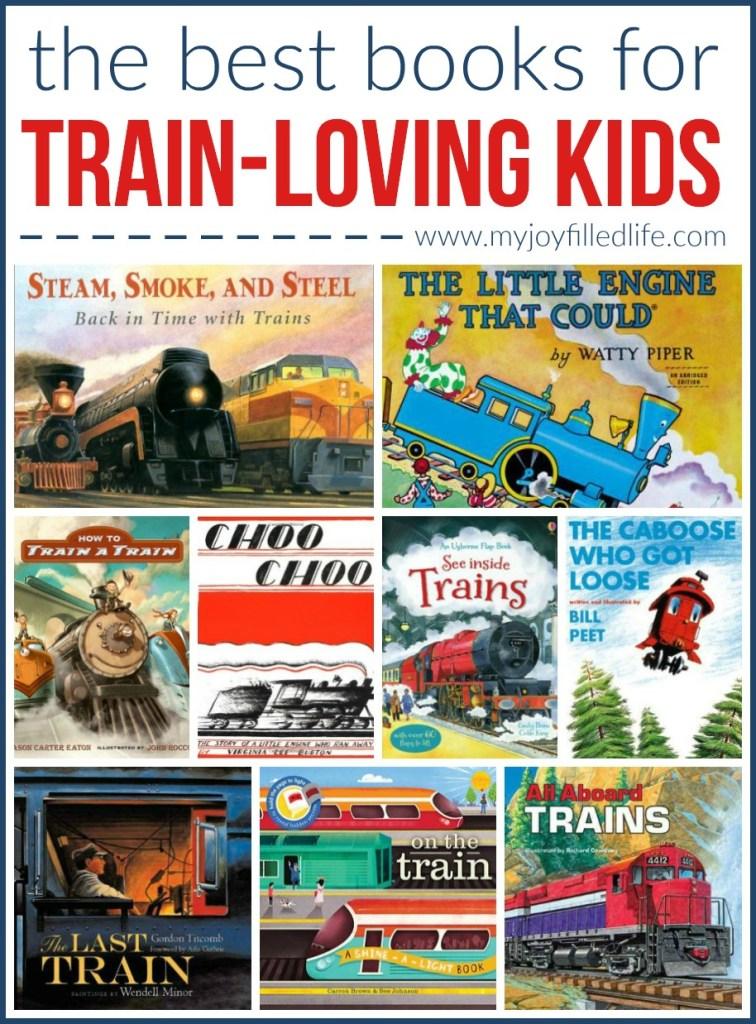 The Best Train Books for Traini-Loving Kids