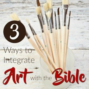 3 Ways to Integrate Art and the Bible