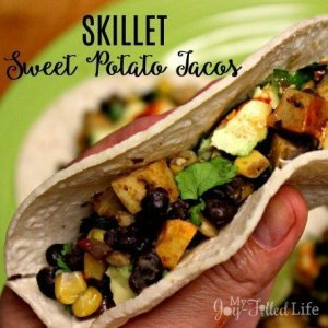 Skillet Sweet Potato Tacos