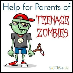 Help for Parents of Teenage Zombies