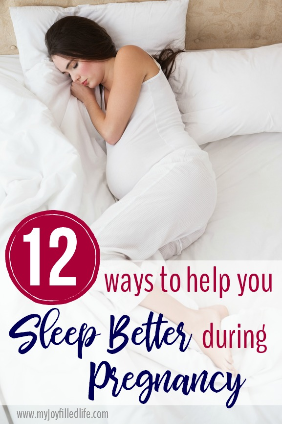 12 Ways to Help You Sleep Better During Pregnancy