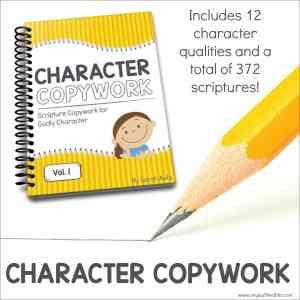 Character Copywork