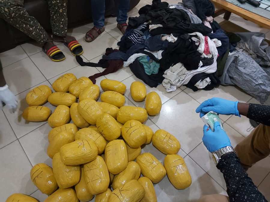 22,683 grams of suspected narcotics intercepted at Ghana-Togo border 2