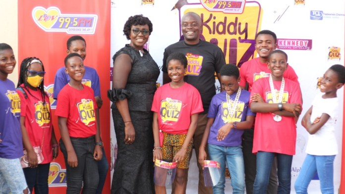 11-year-old Mary-Ann Odoom wins maiden Luv FM Kiddy Quiz 3